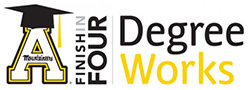 DegreeWorks - Finish in Four logo