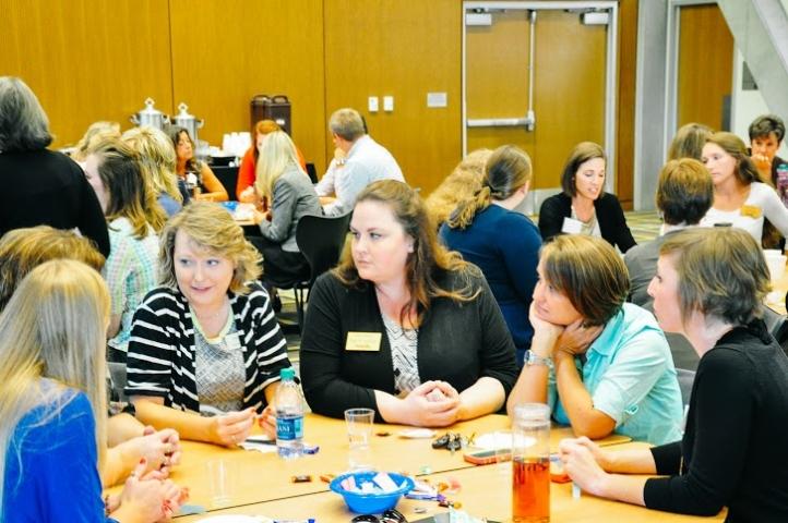 Enrollment Management staff at Positive EMpact professional development event